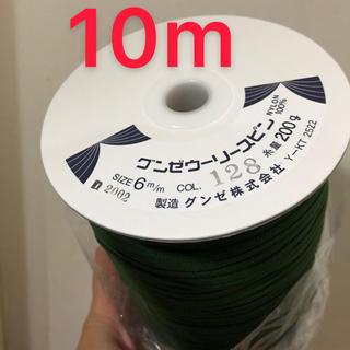グンゼ(GUNZE)のグンゼウーリースピン深緑色 (その他)