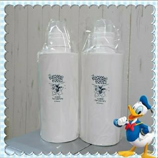 ディズニー(Disney)のドナルドの洗濯洗剤ボトル特大2本セット♡(洗剤/柔軟剤)