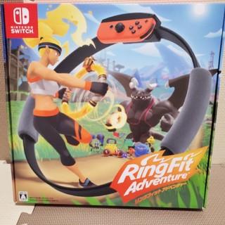 ニンテンドースイッチ(Nintendo Switch)のさちママ様専用 リングフィット アドベンチャー Switch(家庭用ゲームソフト)