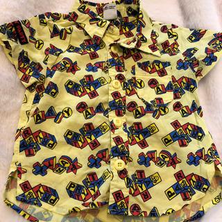 パーティーパーティー(PARTYPARTY)のベビー キッズ シャツ 80cm 美品(シャツ/カットソー)