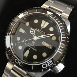 セイコー(SEIKO)のセイコーダイバー SRPD57K1 セイコー5 MOD カスタム(腕時計(アナログ))