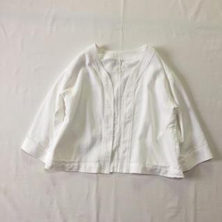 ムジルシリョウヒン(MUJI (無印良品))の無印良品 コットンジャケット(ノーカラージャケット)