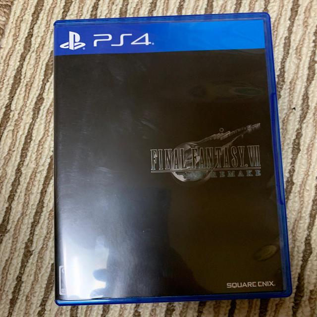 ファイナルファンタジーVII リメイク PS4 エンタメ/ホビーのゲームソフト/ゲーム機本体(家庭用ゲームソフト)の商品写真
