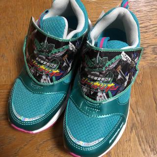 ニシマツヤ(西松屋)の新品☆ シンカリオン 靴 スニーカー 19㎝ # 19 シューズ 新幹線 男の子(スニーカー)