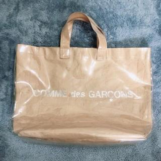 コムデギャルソン(COMME des GARCONS)の処分セール‼️当日発送可 コムデギャルソン PVCバッグ(トートバッグ)