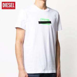 ディーゼル(DIESEL)の59 DIESEL ホワイト クルーネック 半袖 Tシャツ size XL(Tシャツ/カットソー(半袖/袖なし))