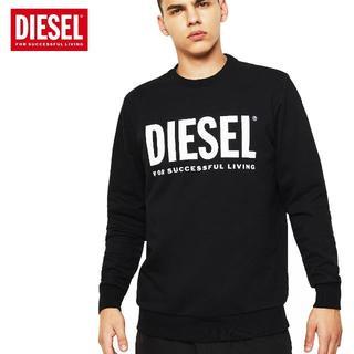 ディーゼル(DIESEL)の4 DIESEL ブラック スウェット/トレーナー size L(スウェット)