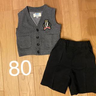 ニシマツヤ(西松屋)のフォーマルセット 80 男の子(ドレス/フォーマル)