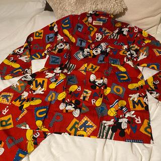 ディズニー(Disney)のミッキーパジャマ 上下セット(パジャマ)