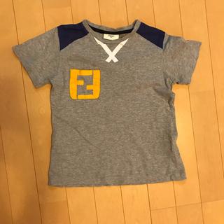 フェンディ(FENDI)のフェンディ  ロゴTシャツ 120(Tシャツ/カットソー)