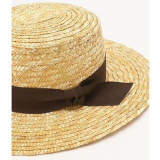 フリークスストア(FREAK'S STORE)の🍑さま カンカン帽(麦わら帽子/ストローハット)