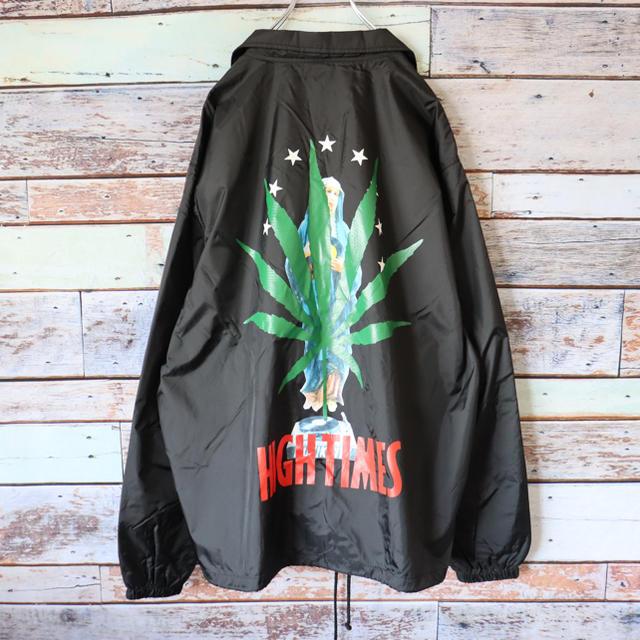 WACKO MARIA(ワコマリア)のWACKO MARIA×HIGHT TIMES ダブルネーム コーチジャケット メンズのジャケット/アウター(ナイロンジャケット)の商品写真