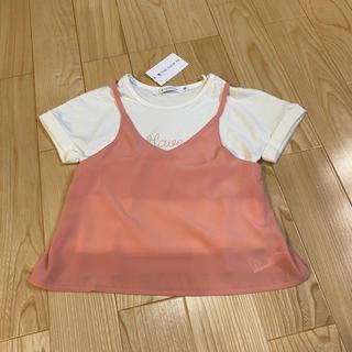 ティーケー(TK)の新品 TK  カットソー  アンサンブル  110(Tシャツ/カットソー)