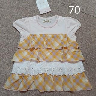 クーラクール(coeur a coeur)のチュニック 70(Tシャツ)
