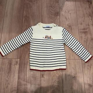 familiar - familiar ファミリア セーター 90サイズ