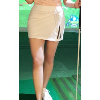アディダス(adidas)の☆ADIDAS GOLF☆新品/正規/タグ付き ラップスカート (ウエア)