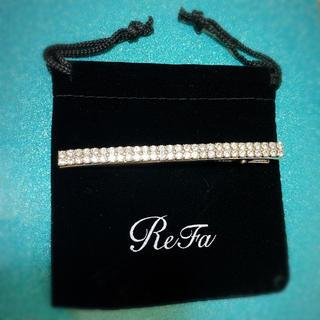 リファ(ReFa)の*新品未使用非売品*ReFa リファ ヘアクリップ ノベルティ(バレッタ/ヘアクリップ)