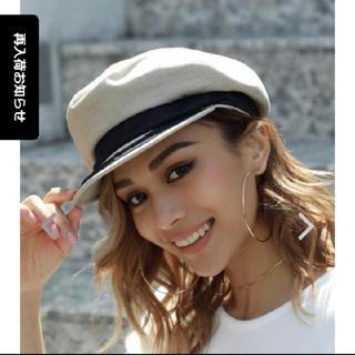 アリシアスタン(ALEXIA STAM)のアネラトウキョウ 帽子(キャスケット)