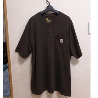 カーハート(carhartt)のcarhartt ヘンリーネックTシャツ L(Tシャツ/カットソー(半袖/袖なし))