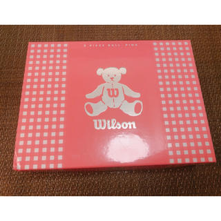 ウィルソン(wilson)のゴルフボール Wilson BEAR3 ピンク(その他)