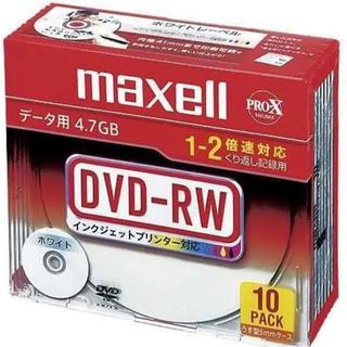 マクセル(maxell)のmaxell データ用 DVD-RW(PC周辺機器)