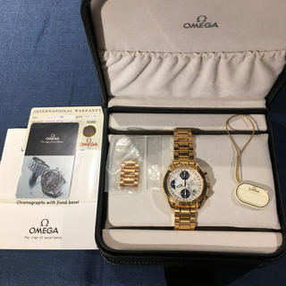 オメガ(OMEGA)の金無垢・オメガスピードマスター・レア珍品(腕時計(アナログ))