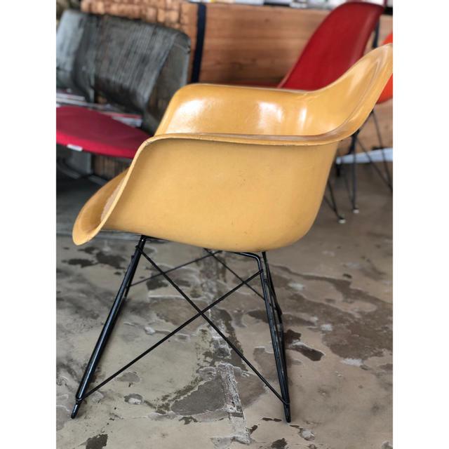 EAMES(イームズ)のイームズ アームシェル 70's ビンテージ インテリア/住まい/日用品の椅子/チェア(ダイニングチェア)の商品写真