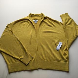 オールドネイビー(Old Navy)の新品未使用【OLD NAVY 】落ちついた黄色のボレロカーディガン(カーディガン)