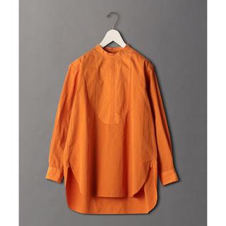 ビューティアンドユースユナイテッドアローズ(BEAUTY&YOUTH UNITED ARROWS)のroku 6 バンドカラーシャツ(シャツ/ブラウス(長袖/七分))