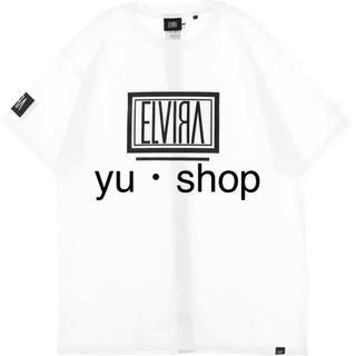 エルヴィア(ELVIA)のELVIRA  白×黒  登坂  希少  Mサイズ  Tシャツ  新品未使用。(Tシャツ/カットソー(半袖/袖なし))