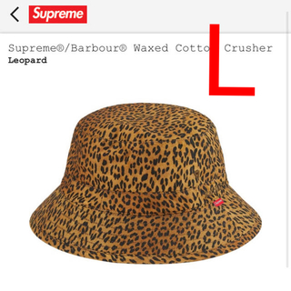 シュプリーム(Supreme)のSupreme Barbour Waxed Cotton Crusher 正規品(ハット)