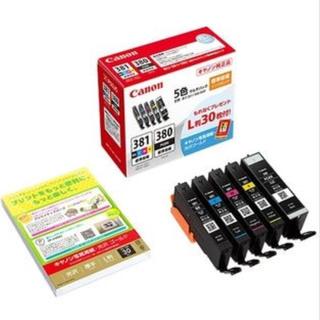 キヤノン(Canon)の(新品未使用)キヤノン BCI-381+380/5MP インク 5色パック(オフィス用品一般)