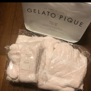 ジェラートピケ(gelato pique)の【最終値下げ】ジェラートピケ 2020 福袋 モコモコ4点セット バッグ付き(ルームウェア)