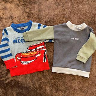 ベビー服 セーター &トレーナー 2点セット(ニット)