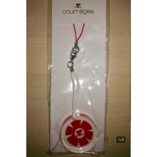 クレージュ(Courreges)の新品 Courreges クレージュ♪チャーム 携帯ストラップ(ストラップ/イヤホンジャック)