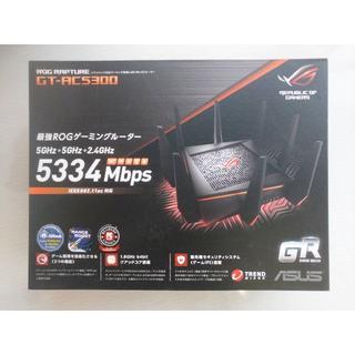 エイスース(ASUS)の【新品】ASUS ゲーミングルーター GT-AC5300(PC周辺機器)