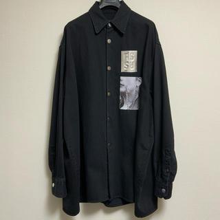 ラフシモンズ(RAF SIMONS)のRAF SIMONS ラフシモンズ デニムジャケット  デニムシャツ Sサイズ(Gジャン/デニムジャケット)