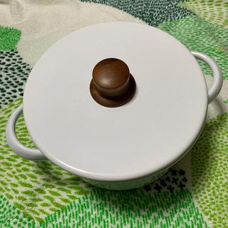 フジホーロー(富士ホーロー)の富士ホーロー 琺瑯製鍋ハニーウェア オマケ付き(鍋/フライパン)