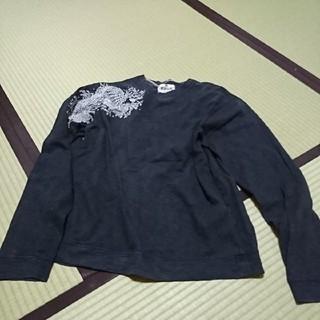 カラクリタマシイ(絡繰魂)の絡繰魂 長袖Tシャツ Lサイズ ブラック(Tシャツ/カットソー(七分/長袖))