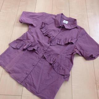 メリージェニー(merry jenny)のメリージェニー♡シャツ(シャツ/ブラウス(半袖/袖なし))