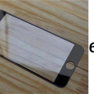 激安iphone6/6s/7/8共通サイズ全面保護鏡面強化ガラス(スマートフォン本体)