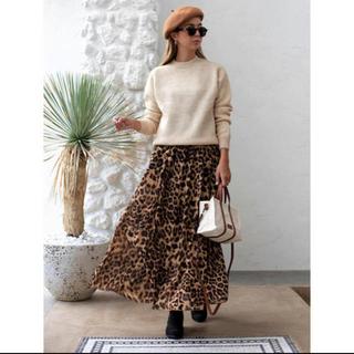 ルームサンマルロクコンテンポラリー(room306 CONTEMPORARY)のroom306 レオパード柄スカート(ロングスカート)