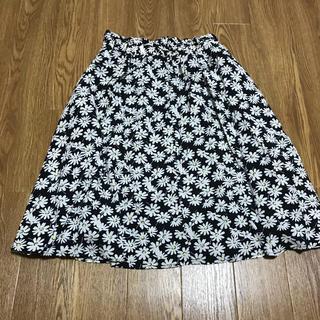 アルピーエス(rps)の花柄スカート(ひざ丈スカート)