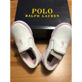 ポロラルフローレン(POLO RALPH LAUREN)の新品 ラルフローレン  キッズスリッポン13.5〜14センチ(スリッポン)