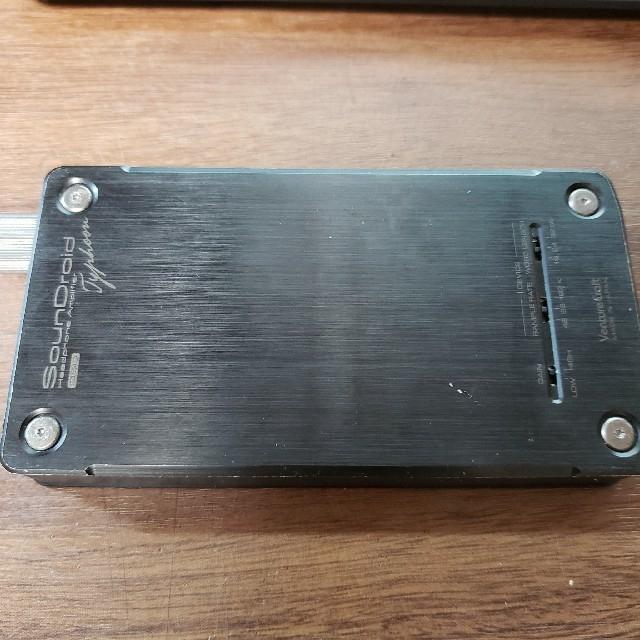 iriver(アイリバー)のsoundroid typhoon muse02と箱付き スマホ/家電/カメラのオーディオ機器(アンプ)の商品写真