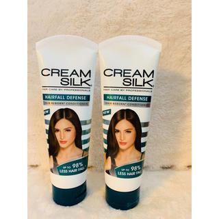 ユニリーバ(Unilever)の新品2本セット♡フィリピン大人気♡cream silk♡トリートメント♡(トリートメント)