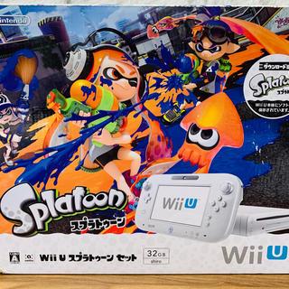 ウィーユー(Wii U)の任天堂 WiiU  スプラトゥーンセット 妖怪ウォッチ特典付き❗️最終値下げ❗️(家庭用ゲームソフト)