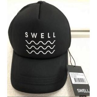 カリフォルニア発 サーフブランド  Swell スウェル メッシュキャップ(キャップ)