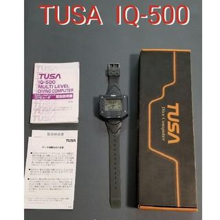 ツサ(TUSA)のTUSA ダイブコンピューター IQ-500 ツサ スキューバダイビング(マリン/スイミング)