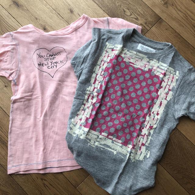 GO TO HOLLYWOOD(ゴートゥーハリウッド)の140  Go To Hollywood Tシャツ 2枚 キッズ/ベビー/マタニティのキッズ服女の子用(90cm~)(Tシャツ/カットソー)の商品写真
